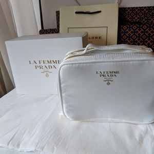 PRADA cosmetic Bag new with OUT THE BOX
